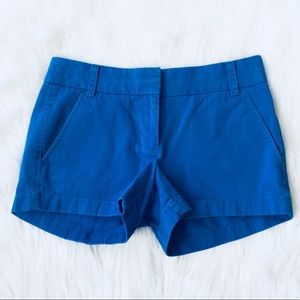 ❤️J. Crew Chino Blue Shorts MSRP $78!